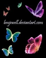 Butterfly Brushes by bmjewell-stock