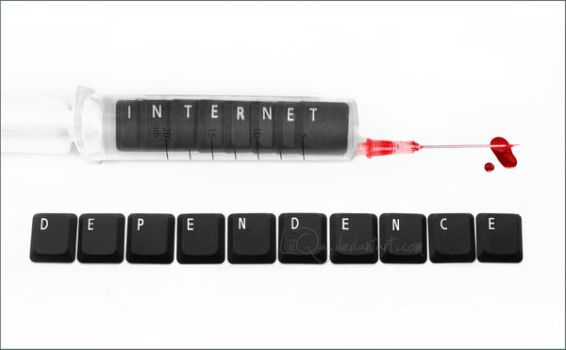 internet dependence ... by LiiQa