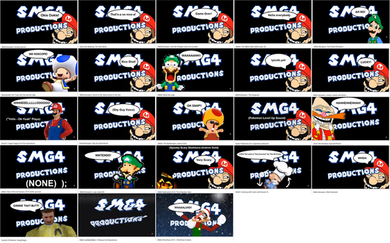 SMG4 2015 Intro Collection by KellenLegendary