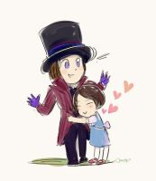 Uncle Wonka by amoykid