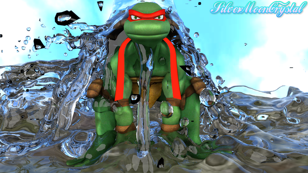 Be once with the Water - Raph Version by SilverMoonCrystal