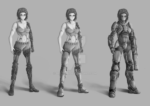 Epsilon - model sheet by Breniak