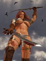 Red Sonja Triumph by greent64
