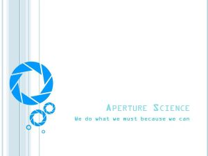 NationStates • View topic - Aperture Science Industries(FT) Aperture Science Innovators Font