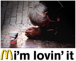 I'm lovin' it by Andycap