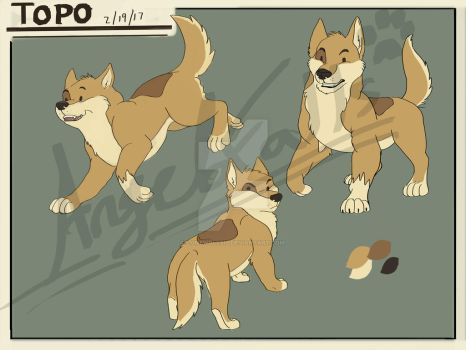 Topo Character Concept (colored) by LoneWolf510
