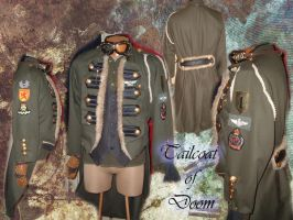 Steampunk Tailcoat of Doom by Angel-or-Phantom