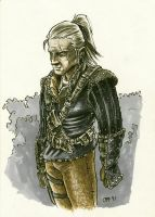 Witcher bad mood by OFFO