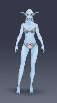 Azshara's outfit: Underwear by ammatice