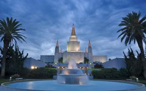 The Oakland Temple by MattGranzPhotography
