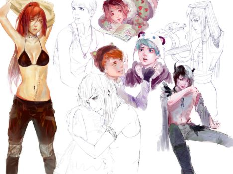 sketch page/dump thing by zephy0