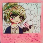 Kate Marsh and Her Bunny by oscurabella