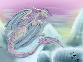 protector of the icy mountains by blackfang1994