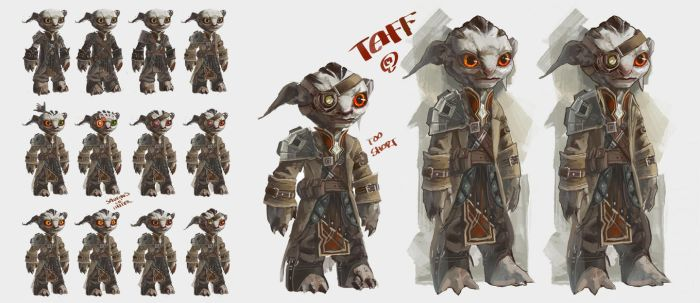Taff Character Study by Changinghand