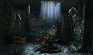Sweeney Todd Torture cell by Katie-Watersell