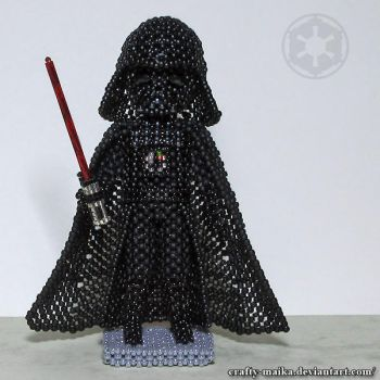 Darth Vader (SW 40th anniversary project 9/9) by crafty-maika