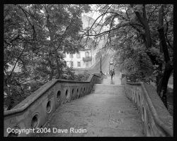 Stairway, Budapest, 2002 by DaveR99