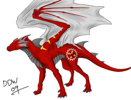 Clan Dragon WIP by dark-dragon-wings