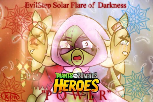 EvilStep Solar Flare of Darkness by luvi05