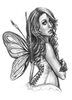 Fairy sketch by Nazzirithe