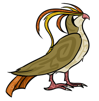 TPP Red 151 Diploma Collab: Pidgeot by WhoaConstrictor