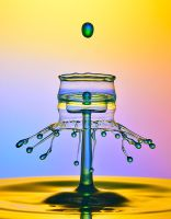 abstarct form of water by 1poz