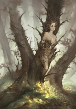 Forest Spirit by Nele-Diel