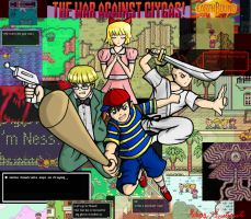 Earthbound Poster by BloodThirstyfang