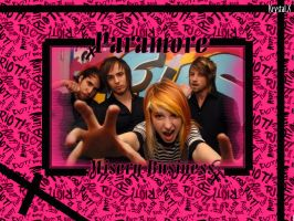 Paramore wallpaper by xobttrflykissesox