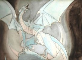 Blue-Eyes White Dragon:Real by The-MuseDragon