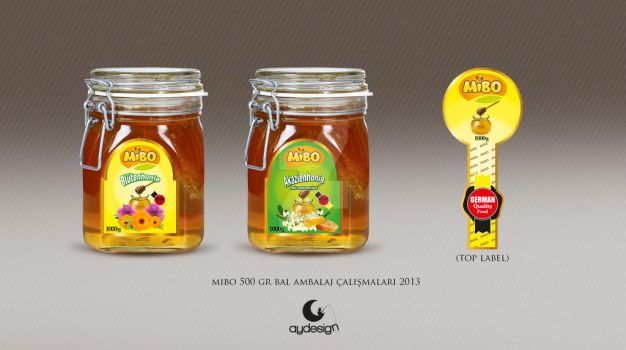 Mibo Honey Design 1000gr by aydesignmedia