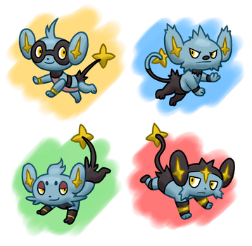 PokeVariant Contest #17: Shinxes by Jakzketch