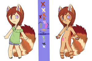 Alexis reference sheet by coffaefox