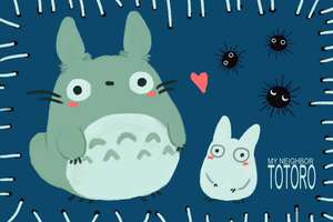 My Neighbor Totoro! by thoughtshower