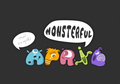 Monsters In April by ryankon