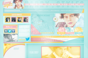 harry styles layout by harrything