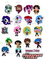 All Monster High's by clau132MonsterHigh
