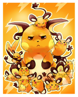 Dedenne and Raichu