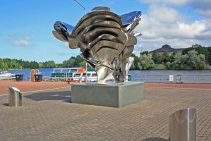 statue of polyphony Finland by Melgor101
