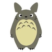 Totoro by Charlockle