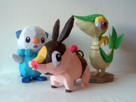 Isshu Starters by P-M-F