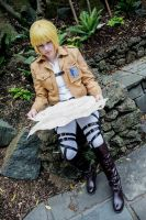 The Strategist ~ Armin Arlert by Chee-Cos