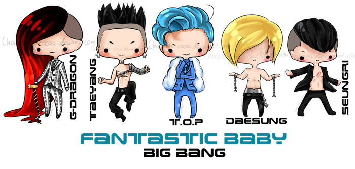 Big Bang Fanstastic Baby by Chocolate-Cocoa