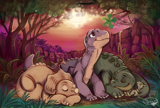 The Land Before Time by sharkie19
