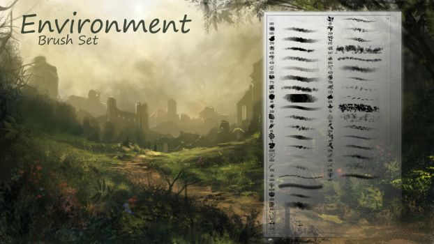 Environment-Brushes by TheEchoDragon