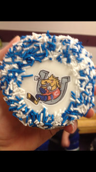 Barrie Colts Donut - Tim Hortons by thatonesmurfX103-9