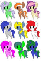 MLP Shipping Adopts: 9/9 Opem by DALEKATOR