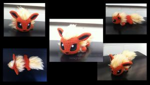 Baby Flareon by aphid777