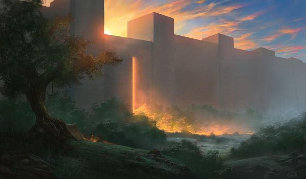 In the Shadows of Glory by noahbradley
