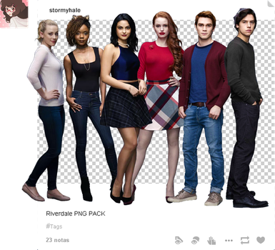 Riverdale PNG Pack by stormyhale